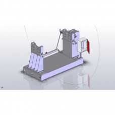 Drawings of the motorised decoiler