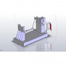Drawings of the motorised decoiler