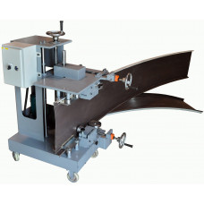 Standing seam curving machine